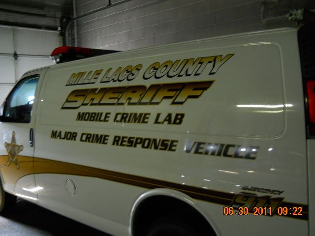 Mobile Crime Response unit van