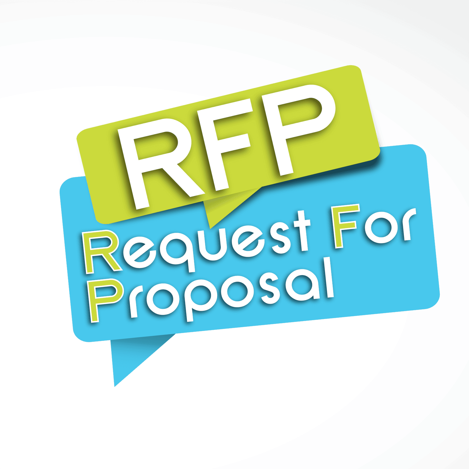 Request for Proposal Megaphone Graphic