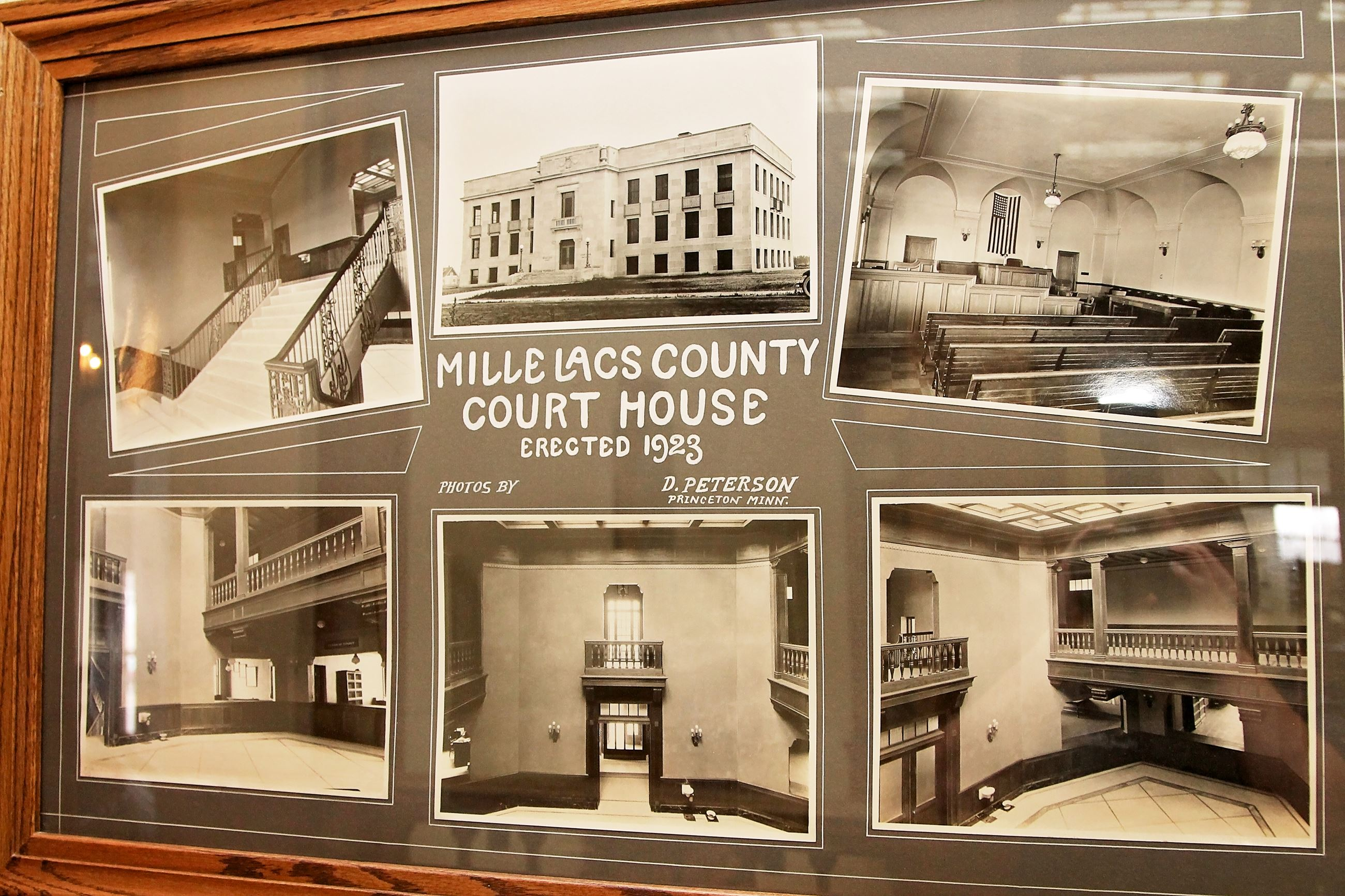 Mille Lacs County Court House Photos