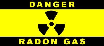 Danger Radon Gas